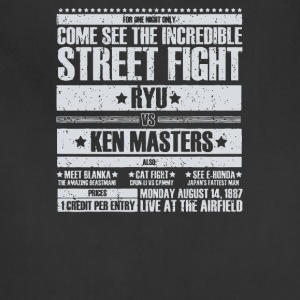 Come see the incredible street fight - Adjustable Apron