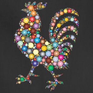 Colorful Rooster - Adjustable Apron