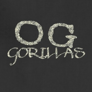 OG Gorillas Logo Designed by OG Gorillas Clothing - Adjustable Apron