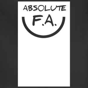 Absolute FA smiley - Adjustable Apron