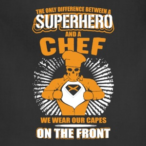 Chef T shirt - Adjustable Apron