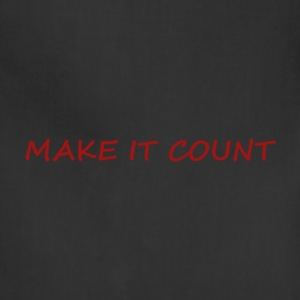 MAKE IT COUNT - Adjustable Apron