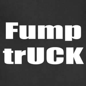 Fump trUCK (white text) - Adjustable Apron