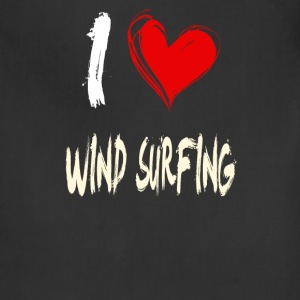 I love WIND_SURFING - Adjustable Apron