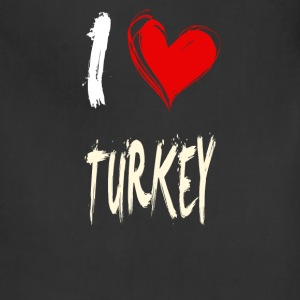 I love TURKEY - Adjustable Apron