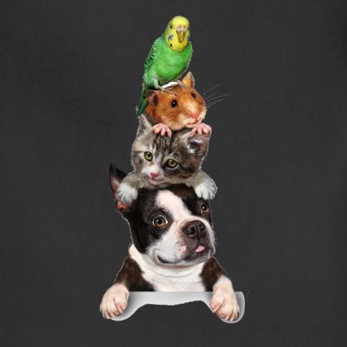 T-shirt Cat lover - Adjustable Apron