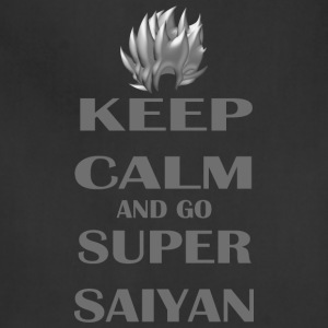 Keep Calm and go Super Saiyan - Adjustable Apron