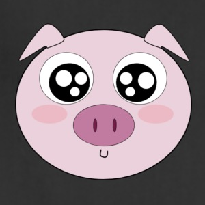 Kawaii Pig Face - Adjustable Apron