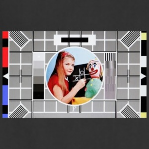 BBC test card F featuring 008 - Adjustable Apron