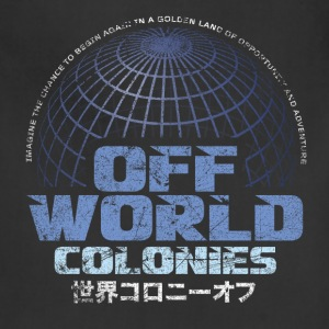 Off World Colonies - Adjustable Apron