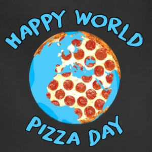 Happy World Pizza Day - Adjustable Apron