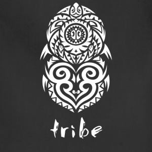 Tribe (Hawaii in White) - Adjustable Apron