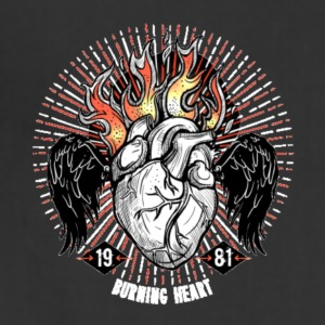 Burning Heart - Adjustable Apron