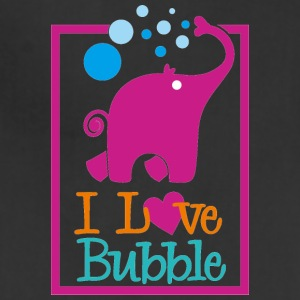 i love bubble - Adjustable Apron
