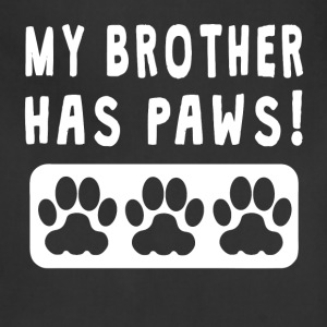My Brother Has Paws - Adjustable Apron