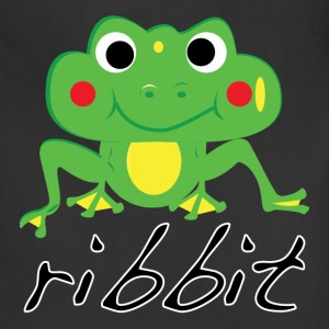 Funny ribbit frog product. - Adjustable Apron