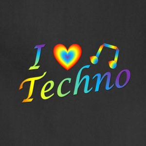 I LOVETECHNO MUSIC - Adjustable Apron