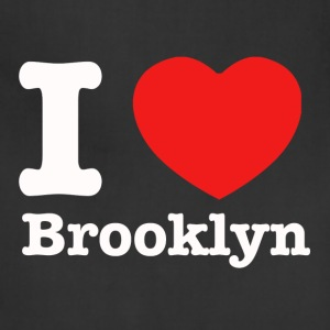 I love Brooklyn New York - Adjustable Apron
