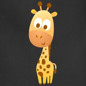 giraffe animal wildlife vector kids illustration - Adjustable Apron