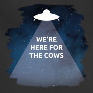 We're Here for the Cows - Adjustable Apron
