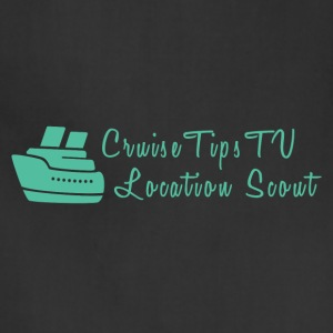 Cruise Tips TV Location Scout - Adjustable Apron