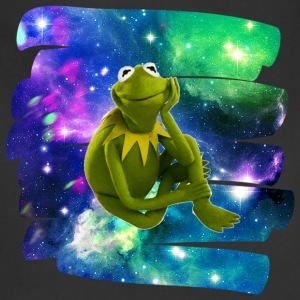 Kermit the frog in the never ending void. - Adjustable Apron