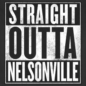 Straight Outta Nelsonville - Adjustable Apron