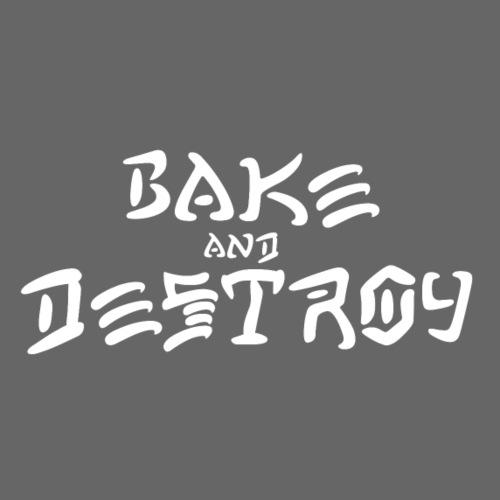 Vintage Bake and Destroy - Adjustable Apron