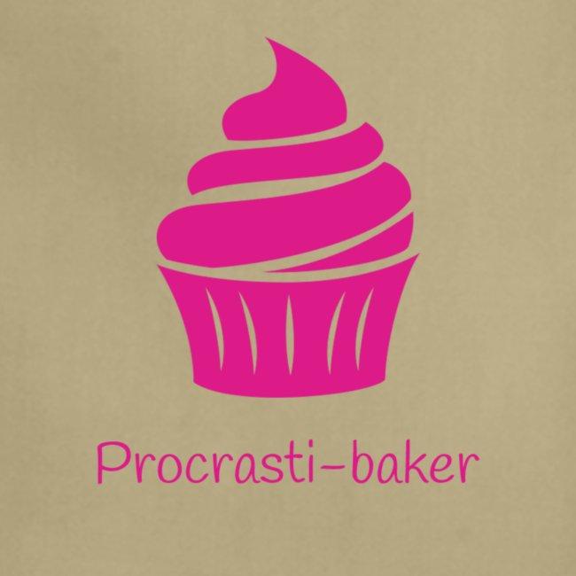 Procrasti-baker - pink