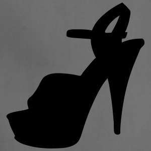 Vector high heels shoes Silhouette - Adjustable Apron