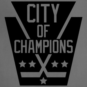 City of Champions - Black - Adjustable Apron