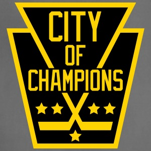 City of Champions - Black and Gold - Adjustable Apron