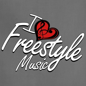 I love Freestyle Music - Adjustable Apron