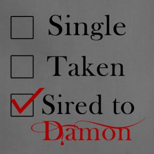 Sired To Damon Salvatore. - Adjustable Apron