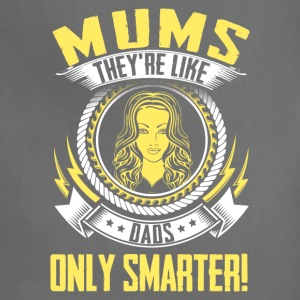 Funny Mother's Day T-Shirt: Mums n Dads for Mommy - Adjustable Apron