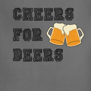 CHEERS FOR BEERS - Adjustable Apron