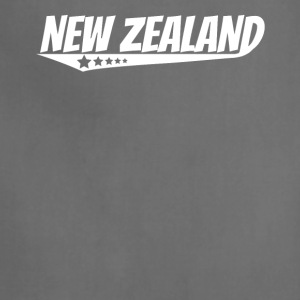 New Zealand Retro Comic Book Style Logo Kiwi - Adjustable Apron
