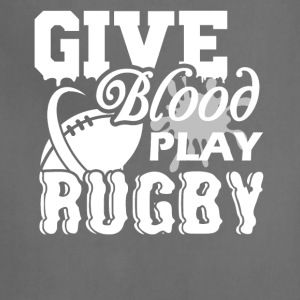 Give Blood Play Rugby Shirt - Adjustable Apron