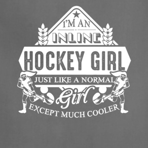 Inline Hockey Girl Shirts - Adjustable Apron