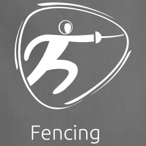 Fencing_white - Adjustable Apron