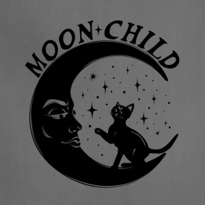 Moon Child T-Shirt for Yoga - Adjustable Apron
