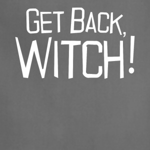 Get back Witch halloween shirt - Adjustable Apron