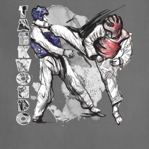 taekwondo tee shirt - Adjustable Apron