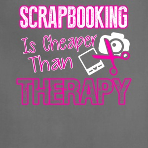 Scrapbooking Therapy Tee Shirt - Adjustable Apron