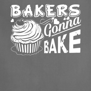 Bakers Gonna Bake Cupcake Cake Baker Tee Shirt - Adjustable Apron