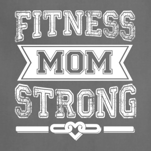 Fitness Mom Strong T Shirt - Adjustable Apron