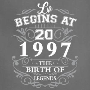 Life begins at 20 1997 The birth of legends - Adjustable Apron