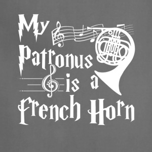 My Patronus is a French Horn Tshirt - Adjustable Apron