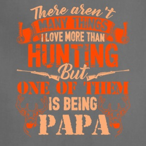 Love Hunting And Being Papa Shirt - Adjustable Apron