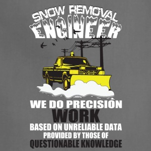 Snow Removal Engineer T Shirt - Adjustable Apron
